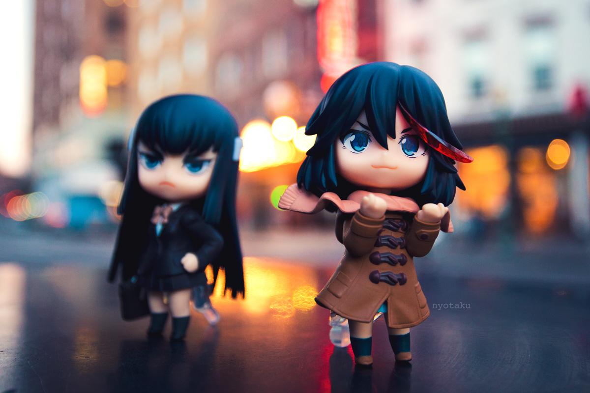 Ryuko and Satsuki Nendoroids