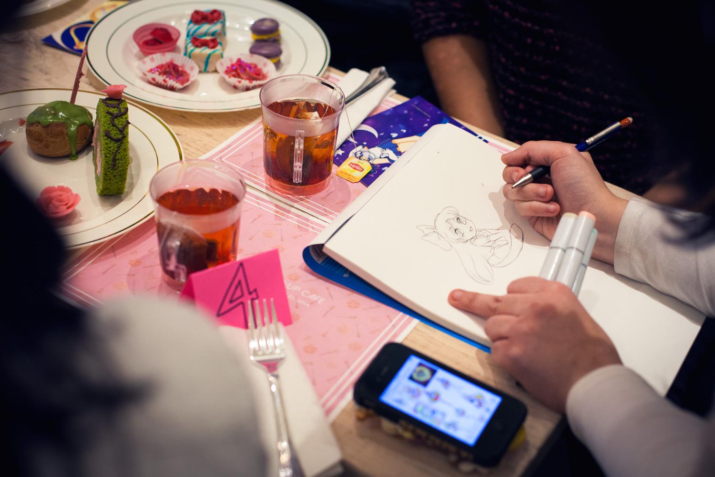 CosCafeNYC Sailor Moon Cafe Artist