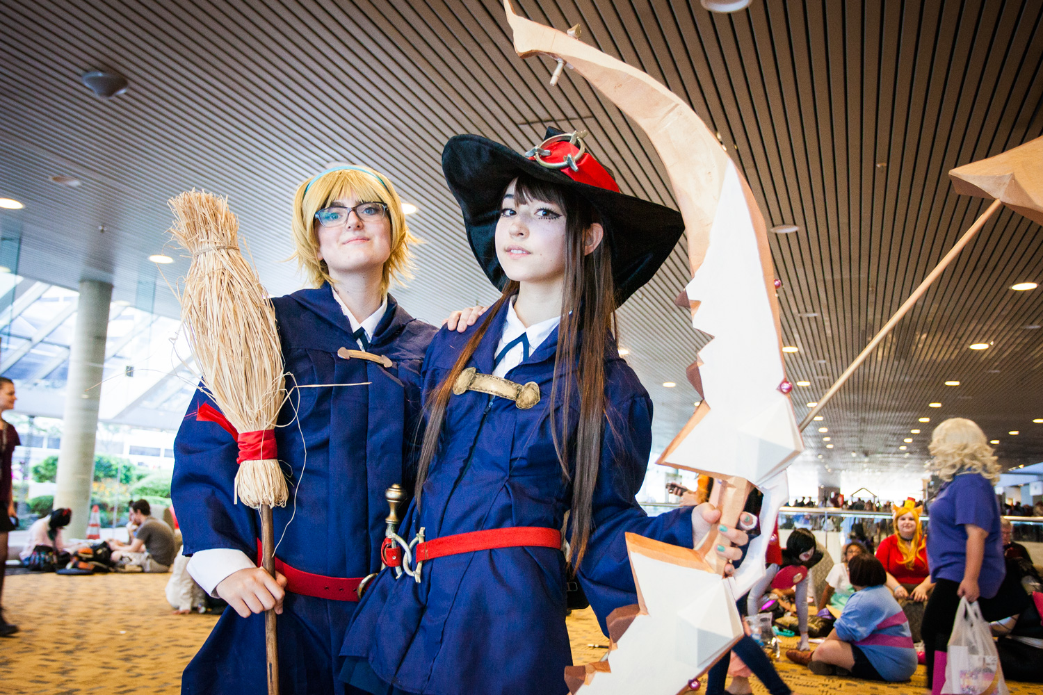 Otakon 2016 Little Witch Academia-Cosplay