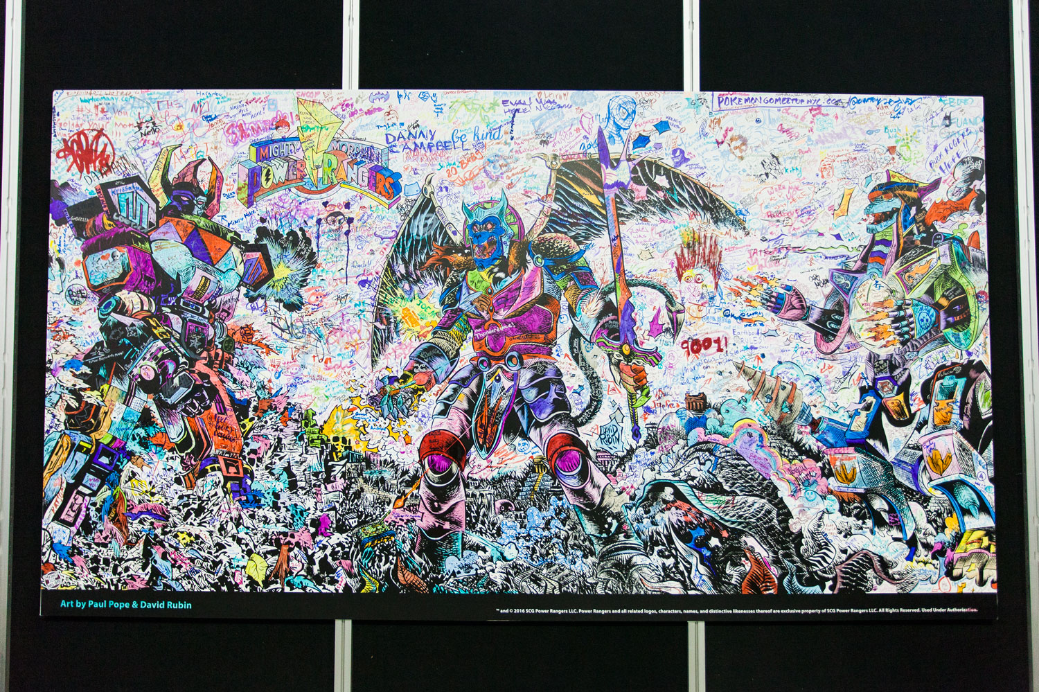 NYCC Artist Alley Mural