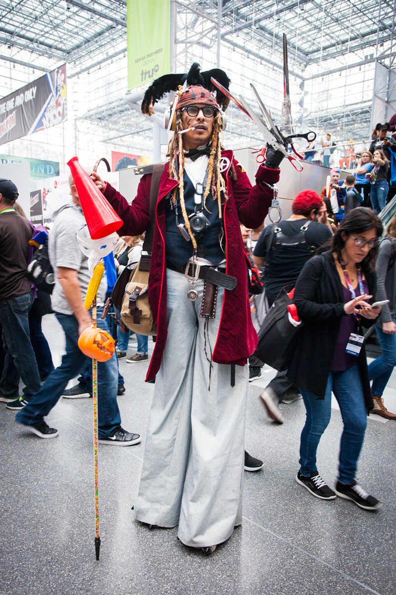 NYCC 2016 Johnny Depp Cosplay