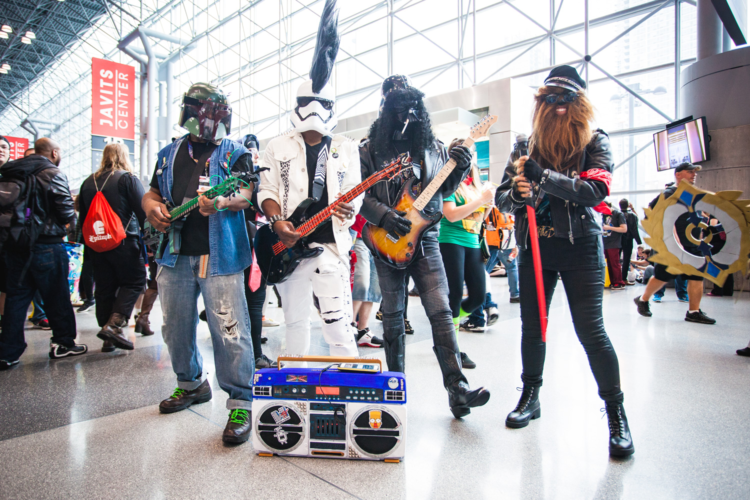 NYCC Star Wars Band
